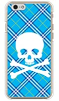 SECOND SKIN スカルパンク ブルー (クリア) / for iPhone 6s/Apple  3API6S-PCCL-201-Y217