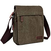 Neumora Small Canvas Messenger Bag Satchel Bag Crossbody Shoulder Bag for men business casual travel