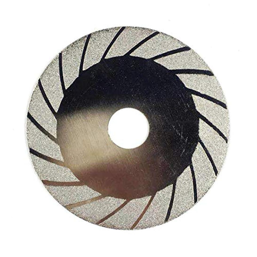 先駆者モンスター幸運なことにダイヤモンド研削ホイール100MMカットオフディスクホイールガラス切断用のこぎり切断刃回転式研磨工具-シルバーBタイプ