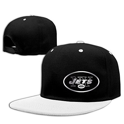 【エクセル】ユニセックス 野球帽 ニューヨーク・ジェッツ プラチナ ロゴ ヒップホップ キャップ 100%コットン製 ストリート系 ファッションリーダー 釣り 調節可能 5カラー