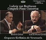 TBRCD0072/74 ベートーヴェン:ピアノ協奏曲全集 ルイス・デ・モウラ・カストロ(ピアノ)エドゥアルド・チバス(指揮)ベネズエラ交響楽団