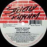 Hands up (what?, Mega Man Main Mix, US) / Vinyl Maxi Single [Vinyl 12'']