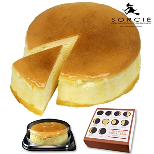 魔法洋菓子店ソルシエ 満月のスフレ チーズケーキ 5号 (通常版 : プライム配送のみ)