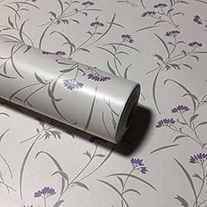 壁紙 花柄 壁紙シール (花 クリーム)