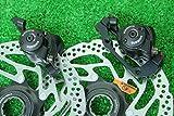 シマノ SHIMANO 高性能 ワイヤ式 ディスクブレーキ BR-M465 SM-RT54 160mm センターロック式 ローター付 前後セット ブラック★自転車 自転車パーツ