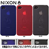 【NIXON】ニクソン CLEAR JACKET IPHONE 4 CASE/4G/iPHONEケース アイフォンケース クリア/3カラー