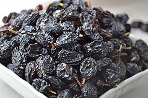 干しブドウ、ブラックカラーに新疆から1000 gグレードA