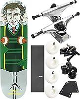 "Enjoi Skateboards LMAOスケートボード8"" x 31.7"" Complete Skateboard–7項目のバンドル"