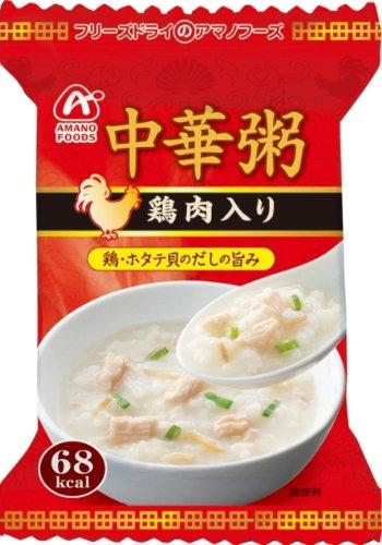 アマノフーズ 中華粥 鶏肉入り 18g×4個