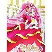 【Amazon.co.jp限定】Go!プリンセスプリキュア vol.3(ジャケットイラスト布ポスター(B2横型)付) [Blu-ray]