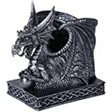 Pacific Giftware Fantasy Dragon Utility Pen Holder Organizer or Home Office Workplace Stationery Utility Holder