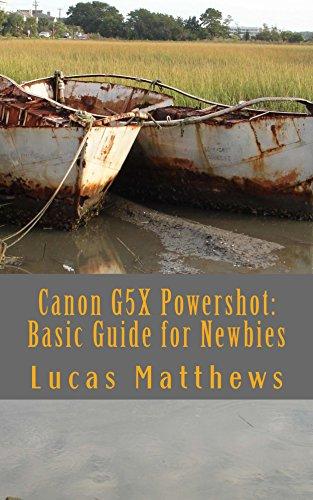 Canon G5X Powershot:  Basic Gu...