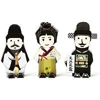 Korea Character Papertoy - Shin saim Dang & Han seok Bong & Kim jung hee