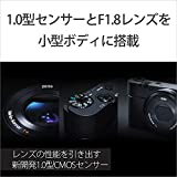 SONY デジタルカメラ DSC-RX100 1.0型センサー F1.8レンズ搭載 ブラック Cyber-shot DSC-RX100 画像