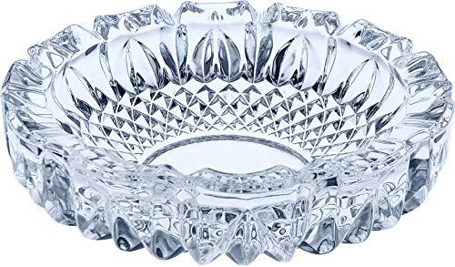 東洋佐々木ガラス 灰皿 約φ18.5×5.6cm トレド 大 日本製 食洗機対応 P-05508-JAN