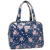 キャスキッドソン バッグ CATH KIDSTON 711050 LARGE BOXY BAG OC TRAILING ROSE レディース トートバッグ 花柄 MID BLUE 紺 [並行輸入品]