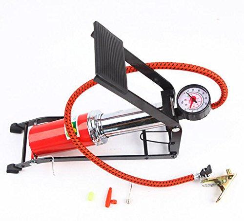 ポータブル床足ポンプでゲージ針とアダプタ多目的床ポンプ高圧自...