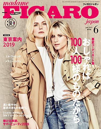 madame FIGARO japon (フィガロ ジャポン) 2019年6月号 特集 春夏コーディネート集 おしゃれは100人100様のものだから。 [雑誌] フィガロジャポン