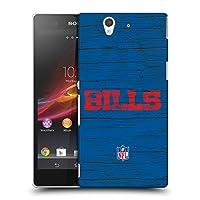 オフィシャル NFL ディストレス バッファロー・ビルズ ロゴ ハードバックケース Sony Xperia Z / C6603 / C6602