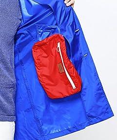 Packable Balmacaan Coat 51-19-0101-012: Blue