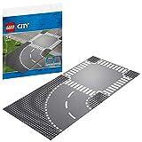 レゴ(LEGO) シティ ロードプレート カーブと交差点 60237