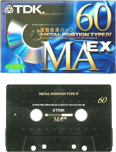 メタルテープ カセットテープ 60分 MAEX-60
