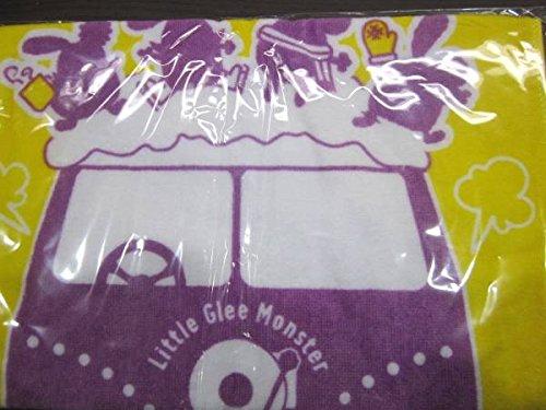 新品リトグリ Little Glee Monster 2017武道館リトグリパープル号タオル Towel New