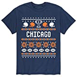 ZSTHG-T Instant Message Chicago Ugly Style N - Chrimstmas Ugly Sweater アダルト 半袖 Tシャツ