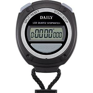 リズム時計 ストップウォッチ デジタル 060 DAILY ( デイリー ) 8RDA60DA02