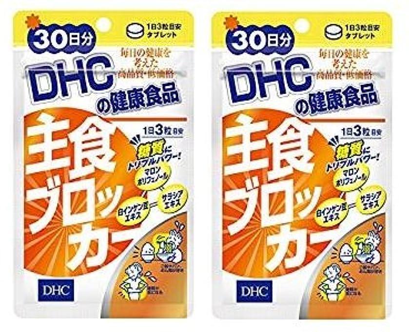 後者まぶしさ成功する【2個セット】DHC 主食ブロッカー 30日分