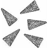 Bonnail ラフスタッズシルバー ロングトライアングル3×2mm