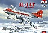 Aモデル ソ連 イリューシン IL-14Tクレイト極地輸送機 プラモデル AM1481