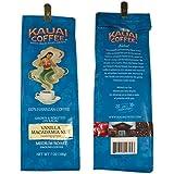 カウアイ農園育ちのハワイアンコーヒー バニラ マカダミア ナッツ 7オンス(198g)
