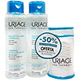 Uriage Thermal Micellar Water Normal To Dry Skin 2x250ml [並行輸入品]