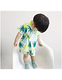 ディゾン(dizoon)春夏 浴衣 甚平 子供服 男女兼用 男の子 綿100% 七五三 子供の日 5デザイン くだもの 80 90 100 110 120 130 140cm