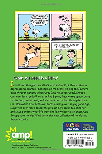 Snoopy to the Rescue  (PEANUTS AMP! Series Book 8): A Peanuts Collection (Peanuts Kids)