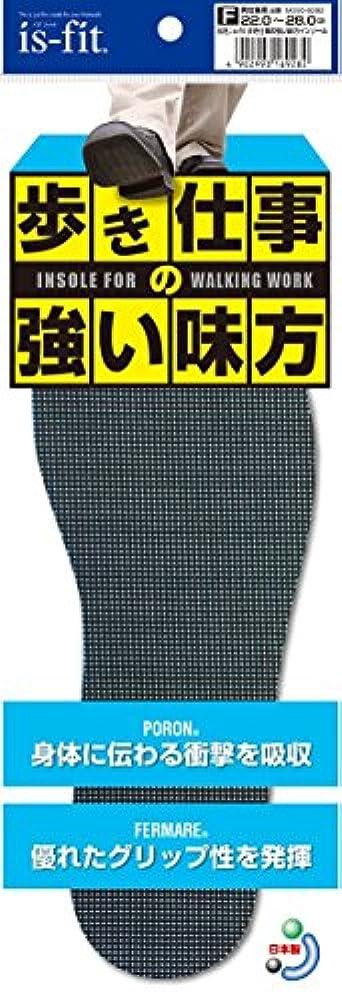 酸っぱいダンスコントロールis-fit 歩き仕事の強い味方インソール 22.0~28.0cm