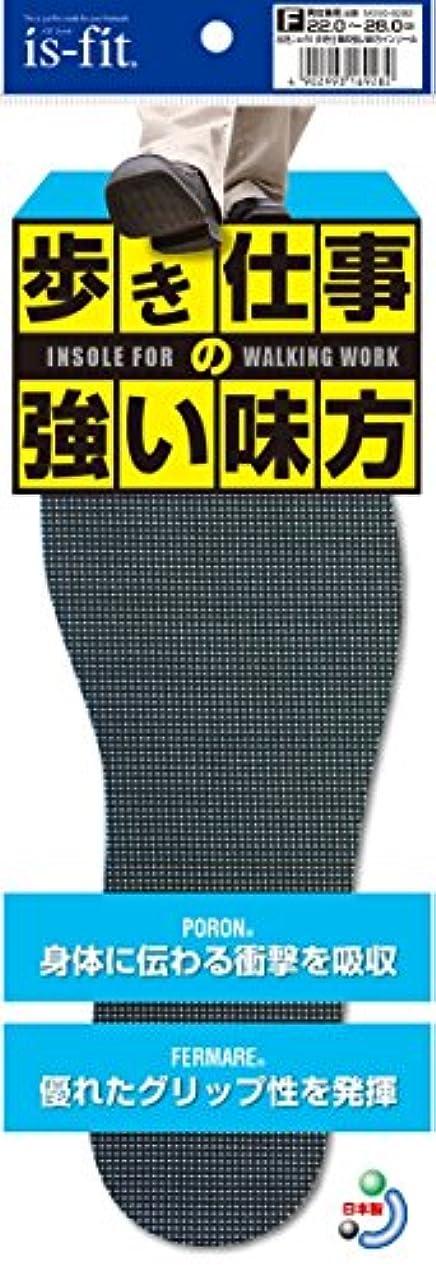 王子スキーム戦うis-fit 歩き仕事の強い味方インソール 22.0~28.0cm