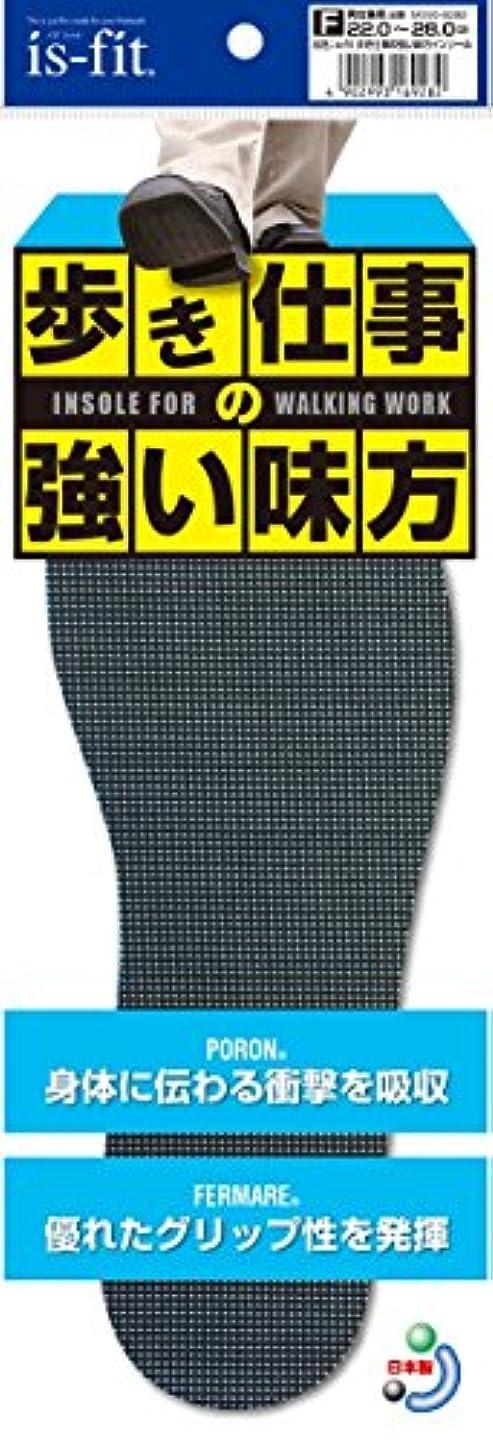 事務所付属品語is-fit 歩き仕事の強い味方インソール 22.0~28.0cm