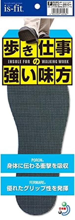 海峡悩みステートメントis-fit 歩き仕事の強い味方インソール 22.0~28.0cm