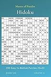 Master of Puzzles - Hidoku 200 Easy to Medium Puzzles 20x20 vol.11