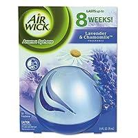 Airwick 89328アロマ球消臭、ラベンダー&カモミール、2.5Ozコンテナ