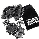 LuckSnatcher クイック ディスコネクト キット レプリカ (BHIタイプ SERPA CQCホルスター 用) [ホルスター の素早い交換が可能] + キャリーポーチセット 【2セット】 サバゲー 装備