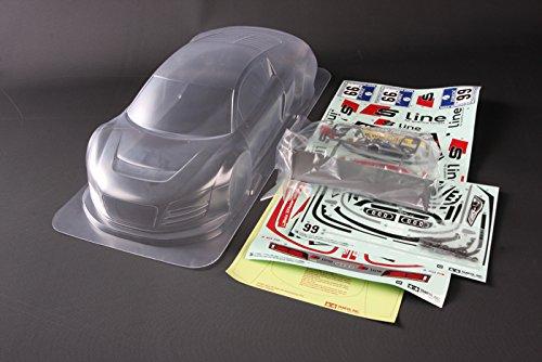 RC限定シリーズ アウディR8 LMS ニュルブリクリンク24時間レース 軽量ボディパーツセット 84298