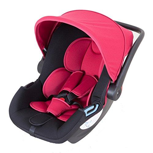 日本育児 チャイルドシート スマートキャリー ISOFIXベースセット レッド ISOFIX対応 新生児~13kgまで対象 スマートキャリー専用ISOFIXベースとのセット