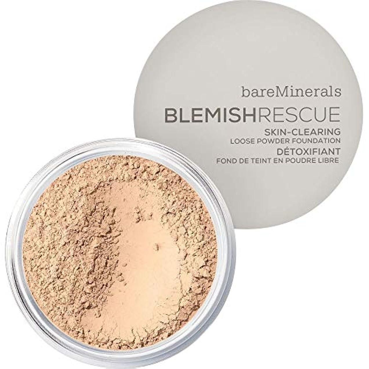 人生を作るピンクスーパーマーケット[bareMinerals ] かなり光 - ベアミネラルは、レスキュースキンクリア緩いパウダーファンデーション6グラム1Nwが傷 - bareMinerals Blemish Rescue Skin-Clearing...
