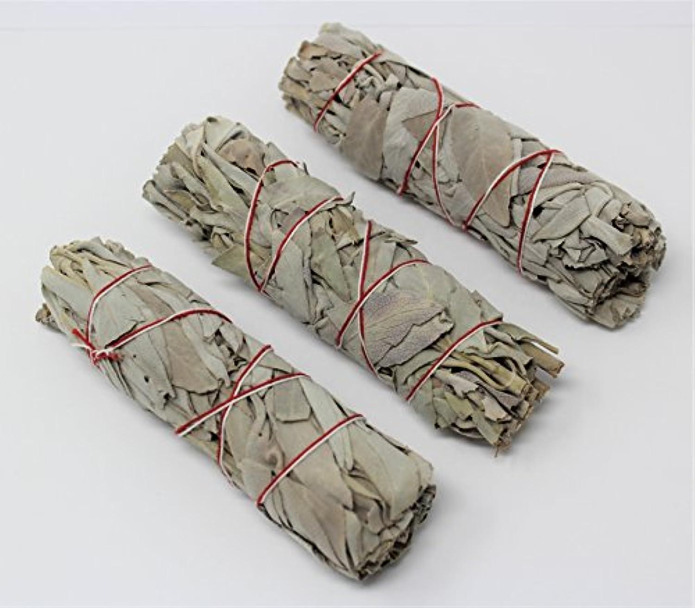 3のセットホワイトセージスマッジWands / Sticks