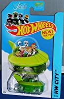 Hot Wheels Hw City - The Jetsons Capsule Car - New for 2014!