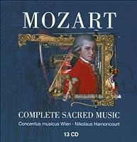 宗教音楽全集 アーノンクール&ウィーン・コンツェントゥス・ムジクス(13CD)