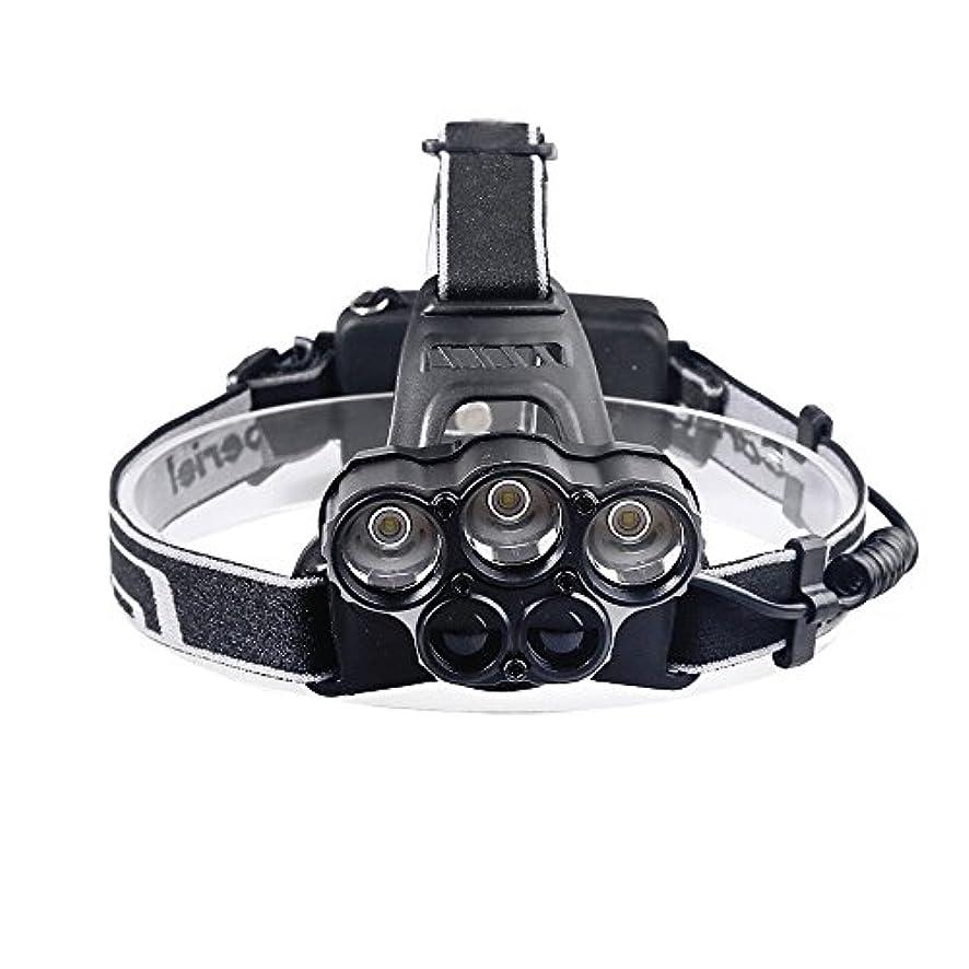 どちらも騙す解説Babsully ヘッドライト 充電式 5X XM-L T6 LED 超高輝度 強光 3000ルーメン 4モード切替 90度の照射角度変更 ヘッドバンド長さ調整可能 軽量 220g重量 アルミ合金 耐衝撃 夜間作業、防災、自衛、地震、台風、停電などに大活躍 SOS点滅 アウトドア対策 夜釣りライト 対応電池 2x 18650 3.7v(含まず)可充電 ヘッドランプ 災害救助用品